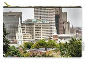 Providence Rhode Island City Skyline In October 2017 Carry-all Pouch