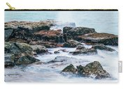 Rocks And Waves At Point Cartwright  Carry-all Pouch