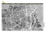 San Francisco City Street Map Carry-all Pouch