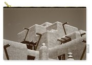 Santa Fe - Adobe Building Carry-all Pouch