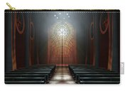 Stained Glass Window Church Carry-all Pouch