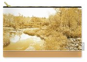 Stream In Autumn, Pocono Mountains, Pennsylvania Carry-all Pouch