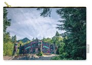 Totems Art And Carvings At Saxman Village In Ketchikan Alaska Carry-all Pouch