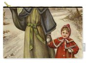 Vintage Christmas Card Carry-all Pouch