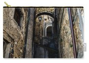 Walking Through The Streets Of Pretoro - Italy  Carry-all Pouch