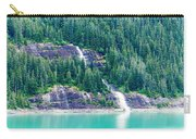 Waterfall In Tracy Arm Fjord, Alaska Carry-all Pouch