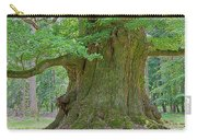 800 Years Old Oak Tree  Carry-all Pouch by Heiko Koehrer-Wagner
