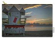8041- Miami Beach Sunrise Carry-all Pouch