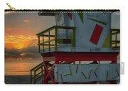 8097- Miami Beach Sunrise Carry-all Pouch