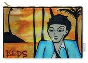 8303-2-  Little Havana Mural Carry-all Pouch