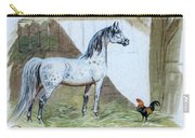 #84 - The Gray And The Rooster Carry-all Pouch