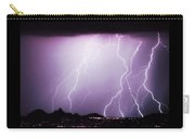 85255 Fine Art Arizona Lightning Photo Poster Carry-all Pouch
