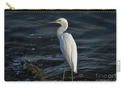 89- Snowy Egret Carry-all Pouch