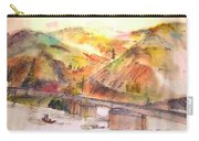 A Trip To Lewiston  In Autumn Album Carry-all Pouch