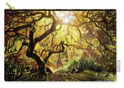 9 Abstract Japanese Maple Tree Carry-all Pouch