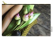 Asian Massage Spa Natural Organic Beauty Treatment Carry-all Pouch