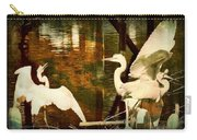9 Egrets Carry-all Pouch