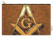 Freemason, Mason, Masonic Symbolism Carry-all Pouch