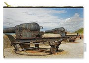 9 Inch Guns At Needles Old Battery Carry-all Pouch