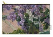 Lilacs In A Window Carry-all Pouch