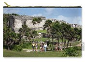 Mayan Temples At Tulum, Mexico Carry-all Pouch