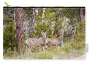 Mule Deer In The Pike National Forest Of Colorado Carry-all Pouch
