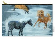 #9 - Ponies In Snow Carry-all Pouch
