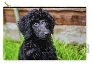 Poodle Puppy Carry-all Pouch