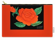 Red Rose, Painting Carry-all Pouch