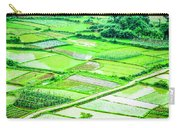 Rice Fields Scenery Carry-all Pouch