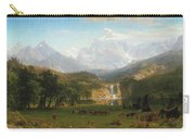 The Rocky Mountains Carry-all Pouch