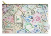 Travel Money - World Economy Carry-all Pouch
