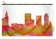 Tulsa Oklahoma Skyline Carry-all Pouch