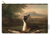 Two Drakes In Landscape Carry-all Pouch