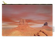 Warm Skies Monument Valley Carry-all Pouch