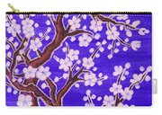White Tree In Blossom, Painting Carry-all Pouch