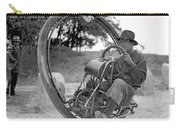 90 M P H Monocycle - 1933 Carry-all Pouch