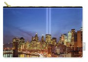 911 Tribute In Light In Nyc II Carry-all Pouch