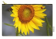 #933 D958 Best Of Friends Colby Farm Sunflowers Newbury Massachusetts Carry-all Pouch