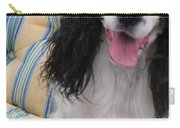 #940 D1037 Farmer Browns Springer Spaniel Happy Carry-all Pouch