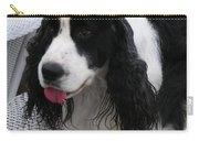 #940 D1039 Farmer Browns Springer Spaniel Fresh Carry-all Pouch