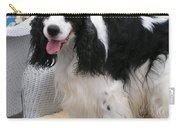 #940 D1040 Farmer Browns Springer Spaniel Cute Carry-all Pouch