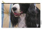 #940 D1043  Farmer Browns Springer Spaniel Smile Hidden Heart Carry-all Pouch