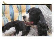 #940 D1054 Farmer Browns Springer Spaniel Carry-all Pouch