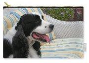 940 D1069 Farmer Browns Springer Spaniel Carry-all Pouch