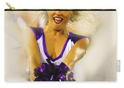 A Baltimore Ravens Cheerleader  Carry-all Pouch