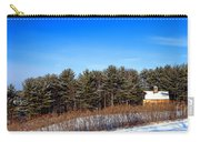 A Barn In The Snow In Maine Carry-all Pouch