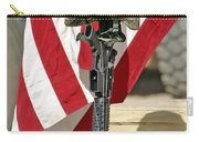 A Battlefield Memorial Cross Rifle Carry-all Pouch by Stocktrek Images