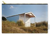 A Beach Hut In The Marram Grass At Old Hunstanton North Norfolk Carry-all Pouch