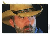 A Bearded Cowboy Carry-all Pouch